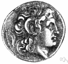 drachma - formerly the basic unit of money in Greece