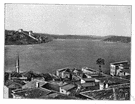 Bosporus - a strait connecting the Mediterranean and the Black Sea