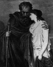 Antigone - (Greek mythology) the daughter of King Oedipus who disobeyed her father and was condemned to death