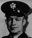 President Eisenhower - United States general who supervised the invasion of Normandy and the defeat of Nazi Germany