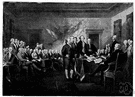 Continental Congress - the legislative assembly composed of delegates from the rebel colonies who met during and after the American Revolution