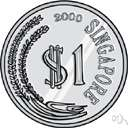 Singapore dollar - the basic unit of money in Singapore