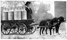 milkwagon - wagon for delivering milk