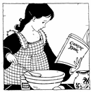 cookbook - a book of recipes and cooking directions