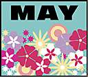 may - the month following April and preceding June