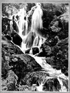 cascade - a small waterfall or series of small waterfalls