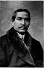 Sun Yat-sen - Chinese statesman who organized the Kuomintang and led the revolution that overthrew the Manchu dynasty in 1911 and 1912 (1866-1925)