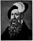 Johannes Gutenberg - German printer who was the first in Europe to print using movable type and the first to use a press (1400-1468)