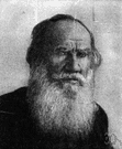 Tolstoy - Russian author remembered for two great novels (1828-1910)