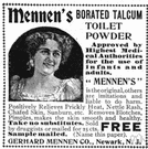 talcum - a toilet powder made of purified talc and usually scented