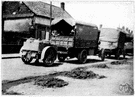 lorry - a large truck designed to carry heavy loads