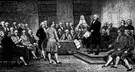 Constitutional Convention - the convention of United States statesmen who drafted the United States Constitution in 1787