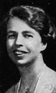 Anna Eleanor Roosevelt - wife of Franklin Roosevelt and a strong advocate of human rights (1884-1962)
