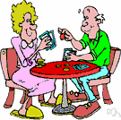 gin rummy - a form of rummy in which a player can go out if the cards remaining in their hand total less than 10 points
