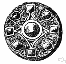 Merovingian - of or relating to the Merovingian dynasty or its members