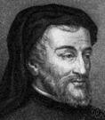 Geoffrey Chaucer - English poet remembered as author of the Canterbury Tales (1340-1400)