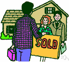 Real estate broker - a person who is authorized to act as an agent for the sale of land