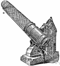 reflector - optical telescope consisting of a large concave mirror that produces an image that is magnified by the eyepiece