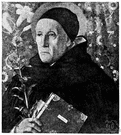 Saint Dominic - (Roman Catholic Church) Spanish priest who founded an order whose members became known as Dominicans or Black Friars (circa 1170-1221)