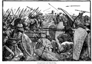battle of Plataea - a defeat of the Persian army by the Greeks at Plataea in 479 BC