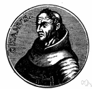 William of Occam - English scholastic philosopher and assumed author of Occam's Razor (1285-1349)