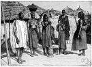 Fulani - a member of a pastoral and nomadic people of western Africa