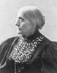 Susan B. Anthony. LIBRARY OF CONGRESS