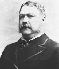 Chester A. Arthur. LIBRARY OF CONGRESS