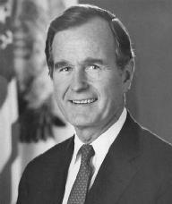 George H.W. Bush. LIBRARY OF CONGRESS