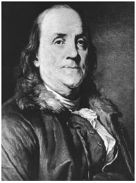 Benjamin Franklin. LIBRARY OF CONGRESS