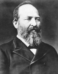 James A. Garfield. LIBRARY OF CONGRESS
