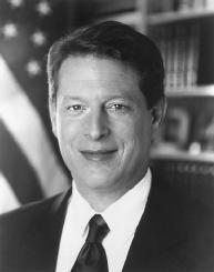 Al Gore. LIBRARY OF CONGRESS