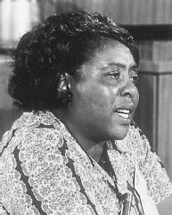 Fannie Lou Hamer. LIBRARY OF CONGRESS