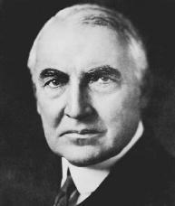 Warren G. Harding. LIBRARY OF CONGRESS