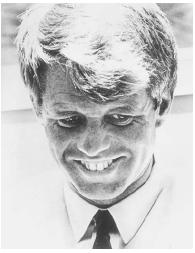 Robert F. Kennedy. LIBRARY OF CONGRESS