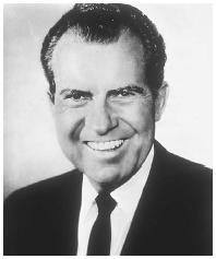 Richard M. Nixon. LIBRARY OF CONGRESS