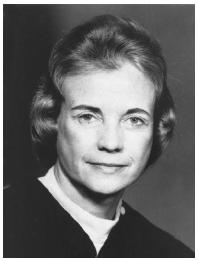 Sandra Day O'Connor. LIBRARY OF CONGRESS