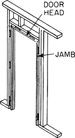 Image of: What Is A Door Jamb On 90 30 Fj Pre Primed Ezitrim Rebated Door Jamb 52m