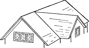 Hip And Valley Roof Article About Hip And Valley Roof By The Free Dictionary