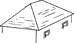 Hipped Roofs Article About Hipped Roofs By The Free Dictionary