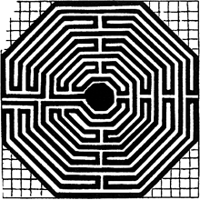 Egyptian Labyrinth Article About Egyptian Labyrinth By