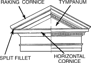 Pedimented Article About Pedimented By The Free Dictionary