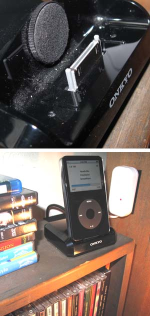 Ipod Dock Article About Ipod Dock By The Free Dictionary - Icarta-ipod-dock-and-toilet-roll-dispenser