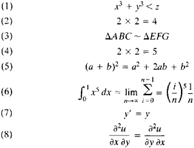 Mathematical Formula | Article About Mathematical Formula By The Free  Dictionary