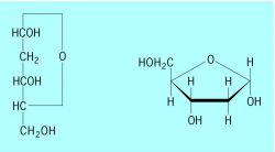 D Deoxyribose Formulas of 2- D -deoxyribose