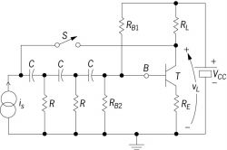 Diagram of electronic circuit