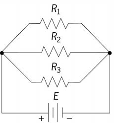 Schematic of a parallel circuit