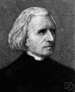 Franz Liszt - Hungarian composer and piano virtuoso (1811-1886)