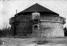 martello tower - a circular masonry fort for coastal defence