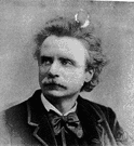 Grieg - Norwegian composer whose work was often inspired by Norwegian folk music (1843-1907)